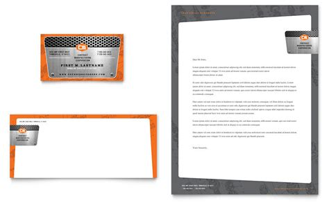 engineering business card templates free manufacturing engineering business card letterhead