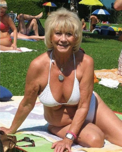 90 year old hairy women pictures gallarys blond mature woman in white bra sitting on blanket in