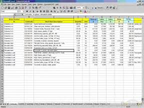 excel templates for construction estimating best photos of construction estimating excel spreadsheet