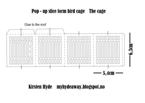 daily cage card template my craft and garden tales a pop up birdcage sliceform