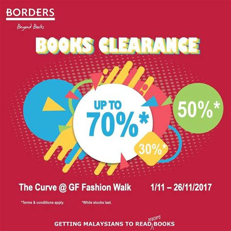 nov  borders books clearance everydayonsalescom