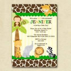 modern jungle safari giraffe print baby shower by mommiesink