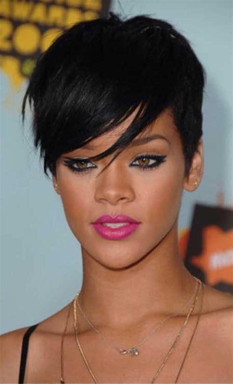 will rhianna pixie work with oblong faces 25 rihanna pixie cuts pixie cut 2015