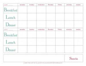 bi weekly meal planner template bi weekly meal plan template driverlayer search engine