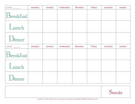 weekly meal planner printable black and white black and white printable planner search results