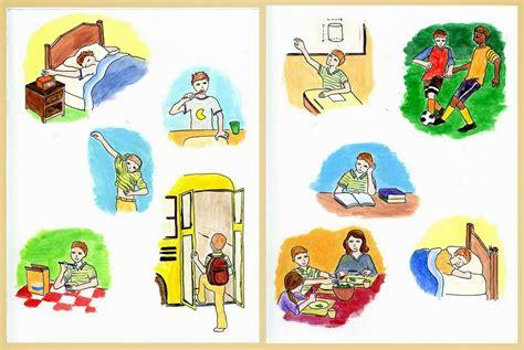 Paket Buku My Daily Routines No 1 Learn Vocabulary Reading Skill dear my brialliant students