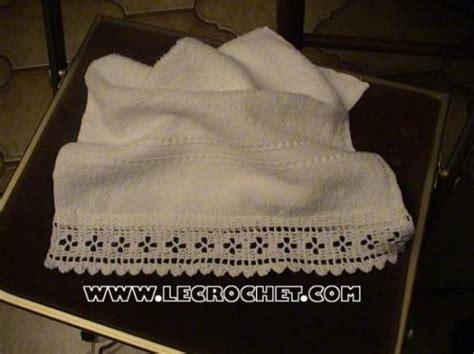 bordure en crochet pour armoire bordures au crochet pour le linge de toilette