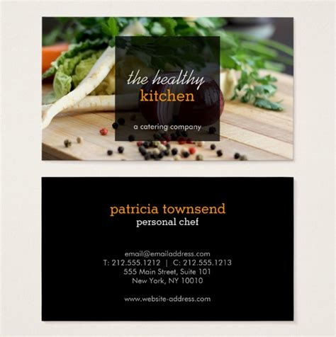 22 Catering Business Card Templates Ai Word Psd Free Premium Templates Catering Business Cards Templates Free