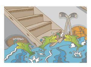 causes of basement flooding common causes of basement flooding