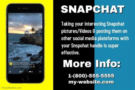 Snapchat Template Postermywall Snapchat Ad Template