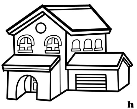 black and white clipart villa clipart black and white pencil and in color villa