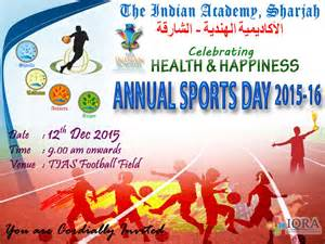 invitation to team sports day