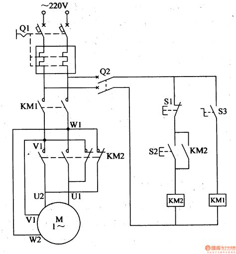 single phase motor controlled circuit automotive circuit