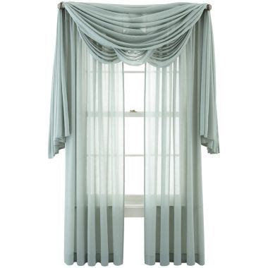 jcpenney curtains window treatments marthawindow flutter window treatments found at jcpenney