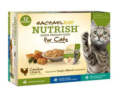 rachael food recall rachael nutrish cat food recall issued