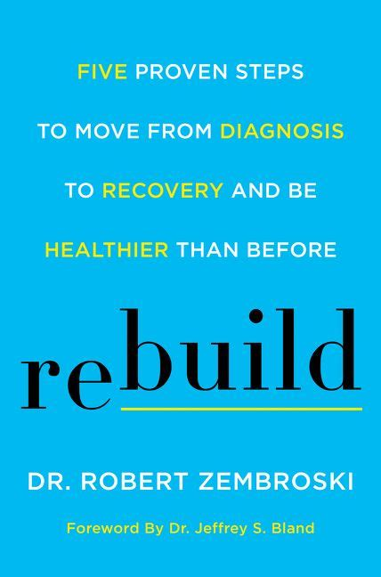 the health booklet simple steps proven to transform your health books rebuild by robert zembroski