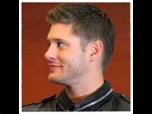 ackles haircut jensen ackles hairstyle youtube