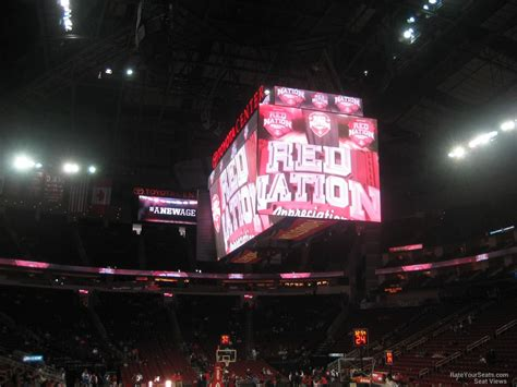 section 115 toyota center toyota center section 115 houston rockets