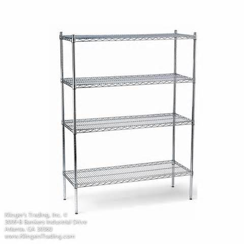 wire shelving wire shelving chrome green epoxy commercial restaurant