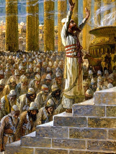Of Worship Original solomon dedicates the temple at jerusalem domain clip photos and images