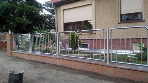 Zaun Aus Edelstahl by Edelstahlz 228 Une Bilder F 252 R Tore Und Z 228 Une Aus Edelstahl