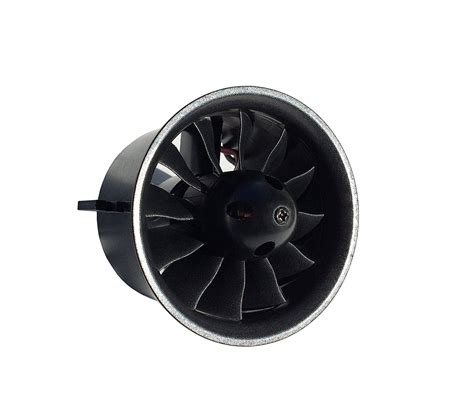 70mm ducted fan qx motor 70mm edf ducted fan set 12 blades electric edf