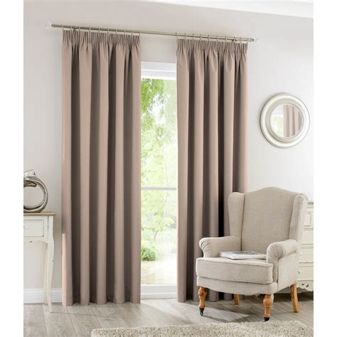 curtain retailers uk silentnight blackout fully lined curtains 66 x 90 quot home