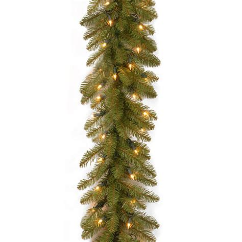 national tree dunhill fir troubleshooting national tree 9ft dunhill fir garland w lights boscov s