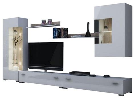 braden tv stand modern entertainment centers and tv stands hamburg modern entertainment center wall unit with led