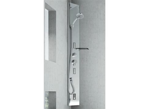 colonna doccia angolare colonna doccia angolare multifunzione in acciaio
