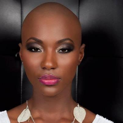 bald covering for black woman 73 best images about beautiful bald women on pinterest