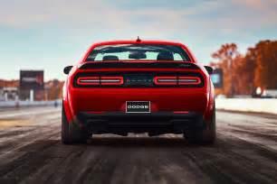 the 2018 dodge challenger srt runs 9s makes 840 hp