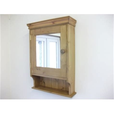 pine bathroom mirror pine bathroom cabinet with mirrored door w47cm