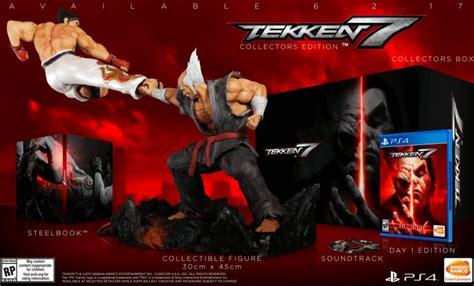 Kaset Ps4second Tekken 7 tekken 7 release date confirmed collector s edition detailed