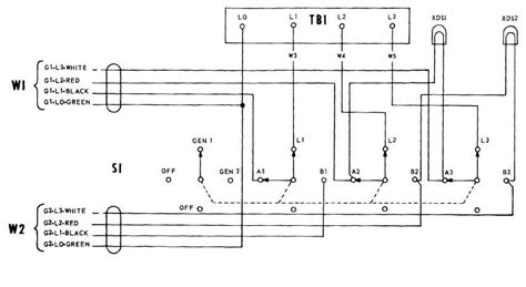 wiring diagram manual transfer switch wiring diagram