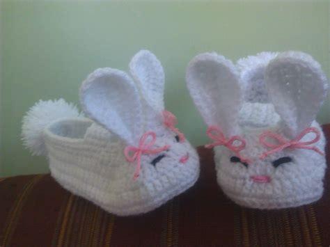 imagenes bonitas de zapatitos de bebe zapatitos de conejita tejidos para bebe bs 375 000 00