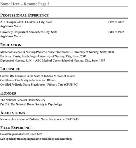 Can Resumes Be 2 Pages by Can A Resume Be 2 Pages Resume Ideas