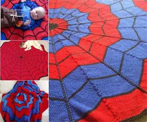 pattern spiderman free spiderman blanket free pattern best crochet knitting