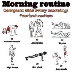 daily workout plan for at home morning workout routine at home most popular workout programs