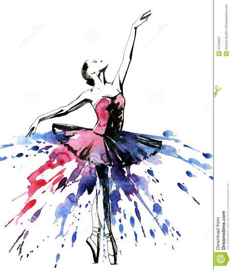 Imagenes Abstractas De Bailarinas | bailarina imagen de archivo imagen 21759231