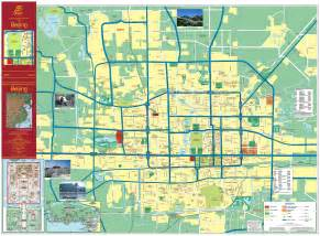 cities map maps of beijing detailed map of beijing city in