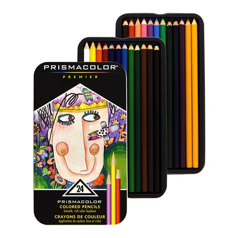 markers and colored pencils prismacolor premier colored pencils 24 set soft