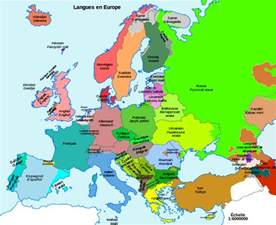 Modern Map Of Europe by Modern Linguistic Map Of Europe Indo European Languages Map