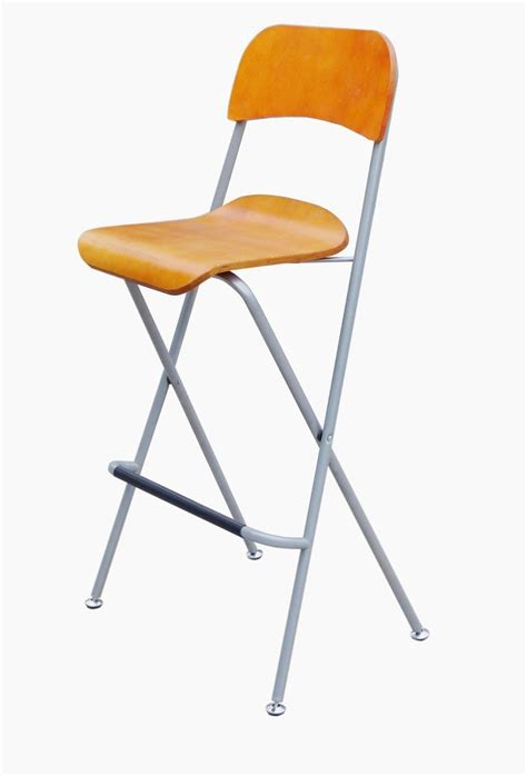 Folding High Stool Chair by Bar Chair Bistro High Chair High Chair Wood Metal Chair