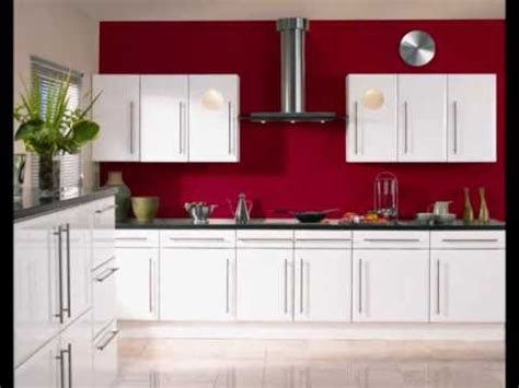 Kitchen Cabinets With Prices high gloss white kitchen doors wmv youtube