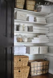 top 25 best linen storage ideas on pinterest organize a storage solutions for small bathrooms bathroom closet