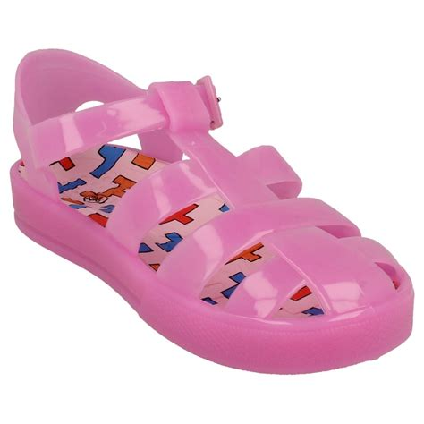 childrens jelly sandals spot on childrens unisex jelly sandals ebay