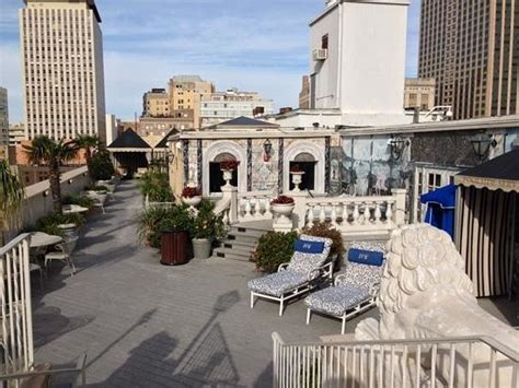 le pavillon new york rooftop picture of le pavillon hotel new orleans