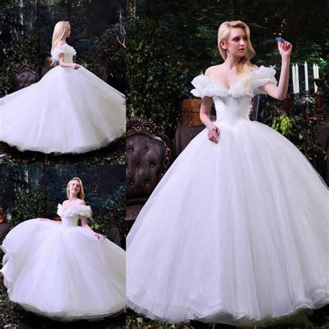 cinderella film wedding dress aliexpress com buy custom for women new movie deluxe