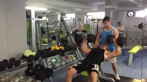 bench press 115 incline dumbbell bench press 115 lbsx 6 reps 52kg youtube